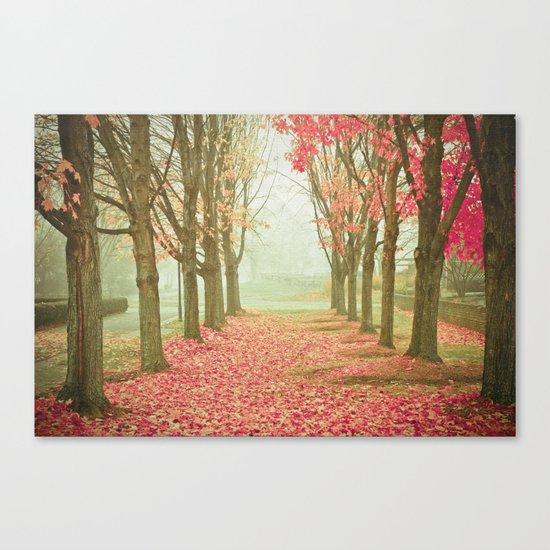 Scarlet Autumn Canvas Print