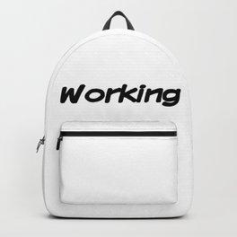 Working Backpack