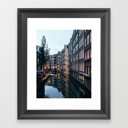 Amsterdam Reflections Framed Art Print