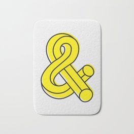Ampersand Bath Mat
