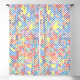 Dot ... Dot ... Dots ... Interior Fabric Artwork Pattern Blackout Curtain
