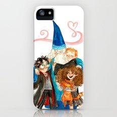 Harry Potter Hug iPhone SE Slim Case