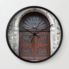 Dutch door Wall Clock