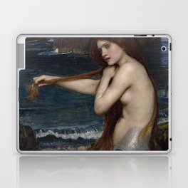 A MERMAID - WATERHOUSE Laptop & iPad Skin