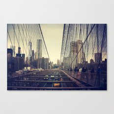 Oncoming Traffic Canvas Print