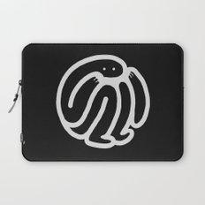 babble · negative ⎌ Laptop Sleeve