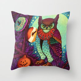 Trick or Treats Throw Pillow