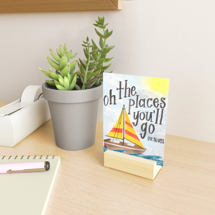 Oh the Places You'll Go - Dr. Seuss Mini Art Print