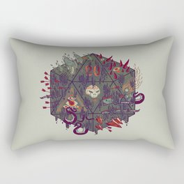 Die of Death Rectangular Pillow