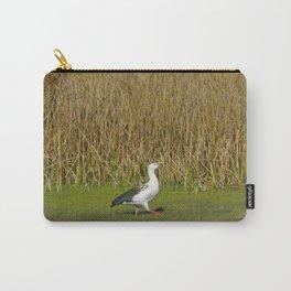 Andean goose (Chloephaga melanoptera) Carry-All Pouch