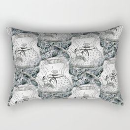 Anxious Teapot Rectangular Pillow