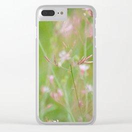 Idk Felt Cute Clear iPhone Case