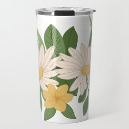Spring Daisies Travel Mug
