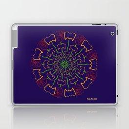 Pétalos y páginas (Petals and pages) Laptop & iPad Skin