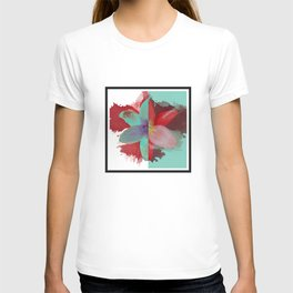 Cold Wind in the Garden Track Art T-shirt
