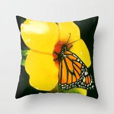 NATURE'S NECTAR Throw Pillow
