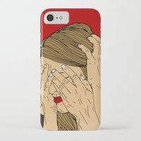 introvert iPhone & iPod Cases featuring Introvert 5 by Heidi Banford