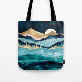 Midnight Ocean Tote Bag