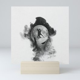 Dancing over our hands. Mini Art Print