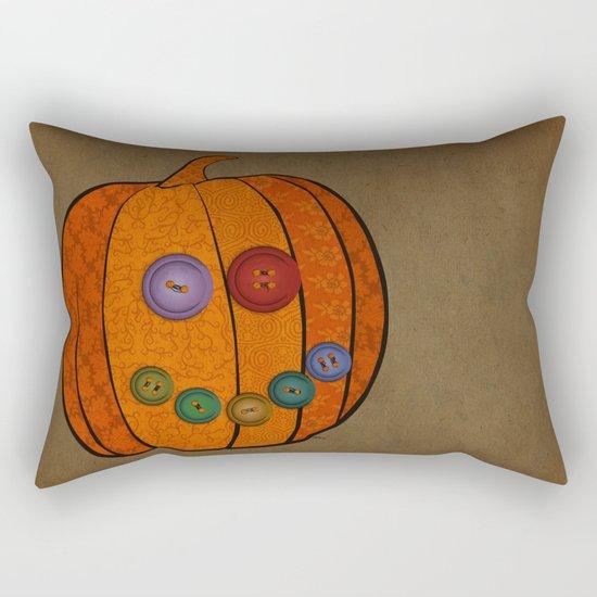 Patterned pumpkin  Rectangular Pillow