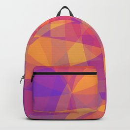 Waves backround Backpack