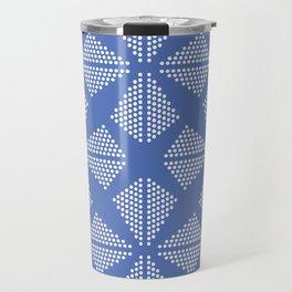 Geometric Dots Pattern Travel Mug