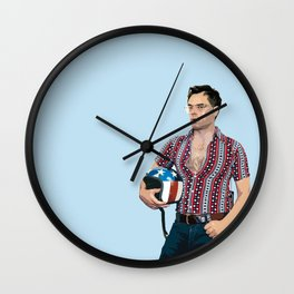 Jemaine Clement 7 Wall Clock