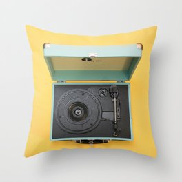 Lionel's Record Player Throw Pillow