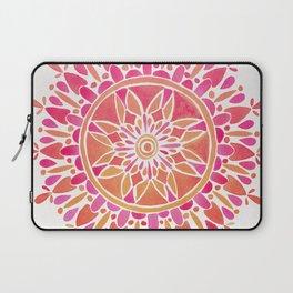 Mandala – Pink Ombré Laptop Sleeve