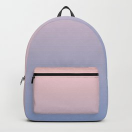 Ombre | Color Gradients | Gradient | Rose Quartz | Serenity | Pantone Colors of the Year 2016 | Backpack