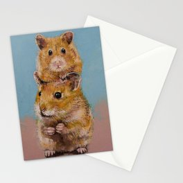 Hamsters Stationery Cards