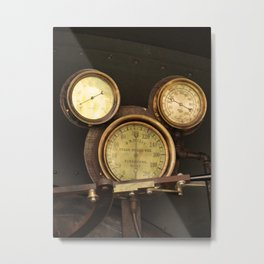 Iconic Gauge Metal Print