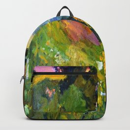 Evening on the river Backpack