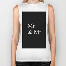 Mr & Mr Monogram standard Biker Tank
