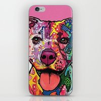 rottweiler iPhone & iPod Skins featuring Rottweiler Dog by trevacristina