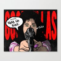 goodfellas Canvas Prints featuring Not Without Your Car Keys by SHINEBOX