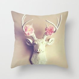 What a Deer Throw Pillow