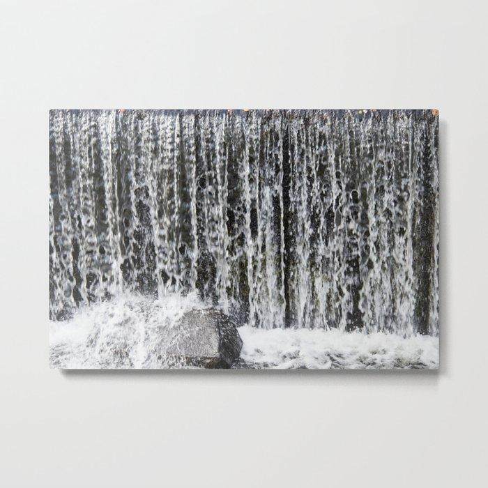 Waterfall II Metal Print