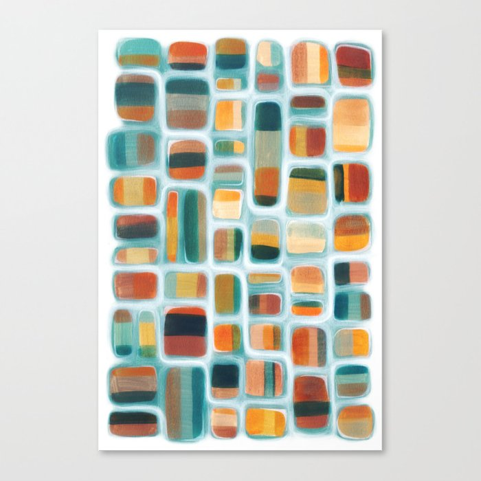Color apothecary Canvas Print