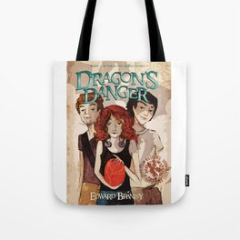 Dragon's Danger Cover Tote Bag