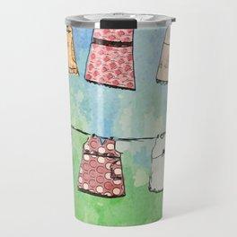 Dresses in the Sun Travel Mug