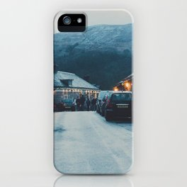 The Little Village Of Luss iPhone Case