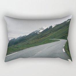Mountain Roads Rectangular Pillow