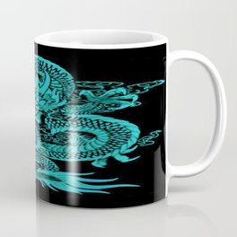 Epic Dragon Teal Coffee Mug