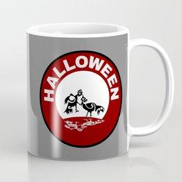 Halloween Rooster fight Coffee Mug
