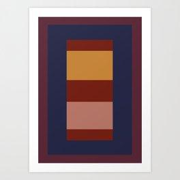 Rectangle layout Art Print