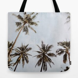 palm trees xiv / chiang mai, thailand Tote Bag