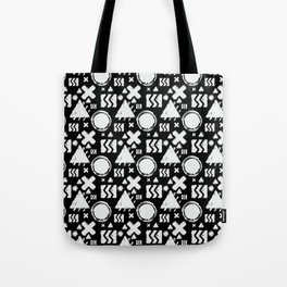 Contrast Geometrix Tote Bag