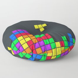 Tetris print design Floor Pillow