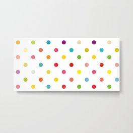 Dots of PRIDE Metal Print